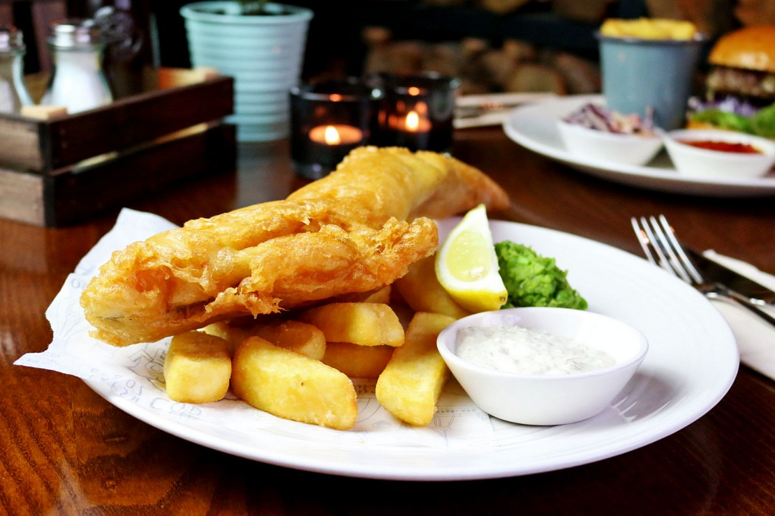 Frontier cod & chips